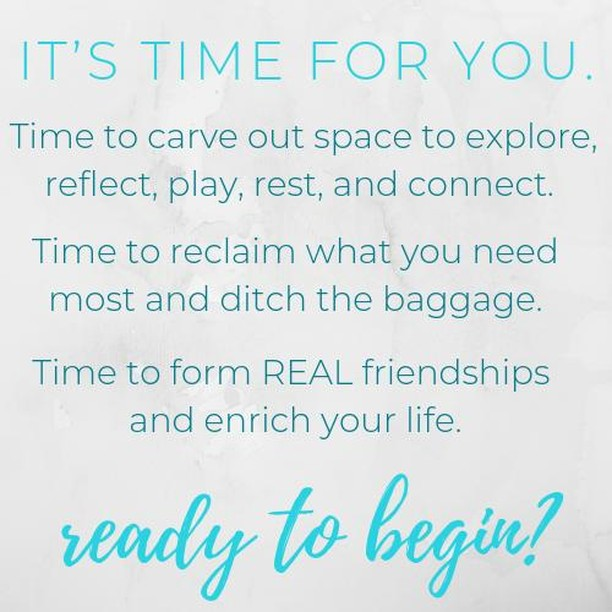 IT'S TIME FOR YOU. . Time to carve out space to explore, reflect, play, rest, and connect. . Time to reclaim what you need most and ditch the baggage. . Time to form REAL friendships and enrich your life. . It's time to Lead Wholehearted™ . Join us tomorrow night for our first gathering: www.LeadWholehearted.com . . . #LeadWholehearted #LeadWithIntention #Wellness #Release #Mindfulness #Reflect #Leadership #Lead #Millennials #Revolution #Wholehearted #20something #generationy #30something #Transformation #Intention #Life #Work #Tips #Success #Entrepreneur #Influence #Motivation #Mompreneur #LadyBoss #Training #Consulting #Coaching #Sacramento #California