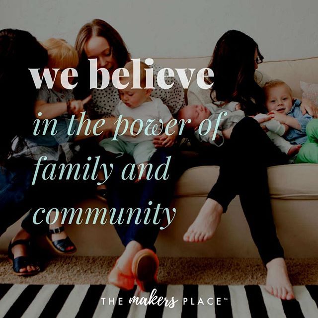 Whether bound by blood or by choice, families make our community stronger. If you're looking for more support and don't want to parent alone, come join us and experience the power of community: www.MakersPlaceSac.com  #TheMakersPlace #MakersPlaceSac #Sacramento #Sac #SacParents #Parents #Parenting #Momprenuer #Leadership #Life #Work #Tips #Success #Entrepreneur #Coworking #Kids #Childcare #Family #Create #Placemaking #Local #BeLocal #SacTown #GoodCoffee #Coffee #Values #ParentTruth