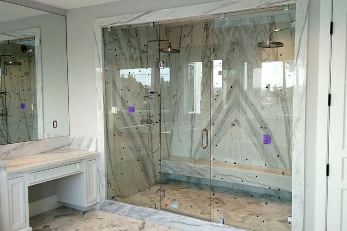 Custom Showers - • Frameless Showers• Framed Showers• Specialty Shower Units