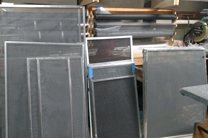 Screens - • New Window Screens• Frame Rescreens• Patio Screen Doors