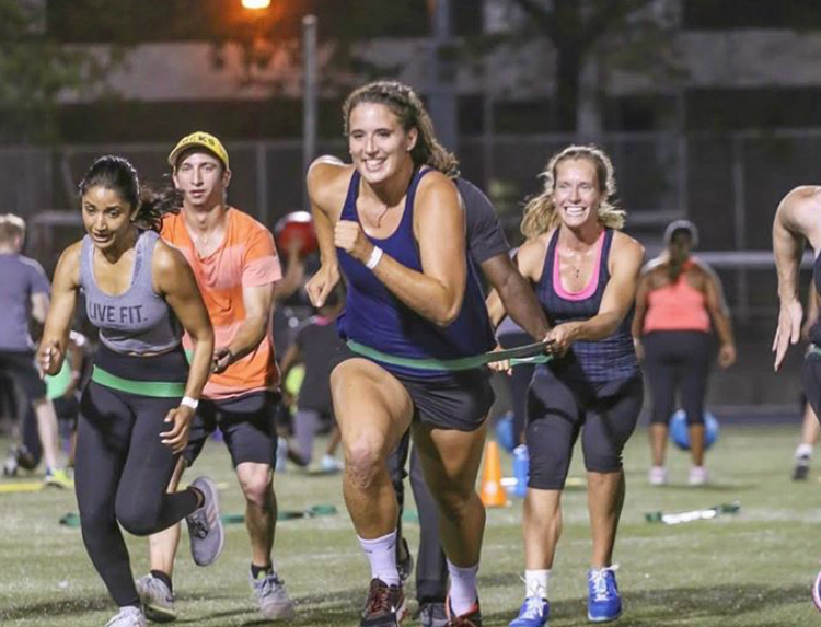 GAME DAY  This class will challenge all levels of fitness by combining strength & cardio movements for the duration of 6-10 minute timed-rounds. Designed to challenge your endurance and strength, participants will feel the 'inner-athlete' within, battling through 3-4 rounds of greatness! It's 'YOU-vs-YOU'! Will you come out victorious?
