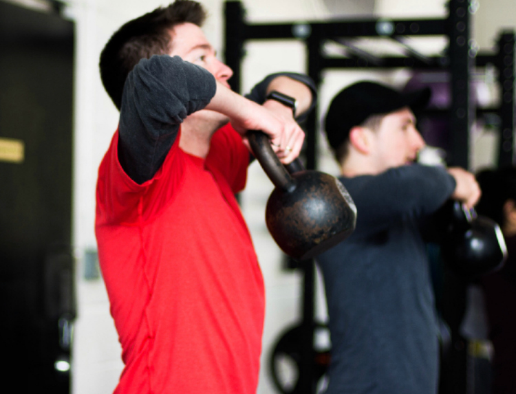 KETTLEBELL  Build balance, power and muscle using the multi functioning tool of the kettlebell. Kettlebells are excellent for improving muscle tone, body composition, and strength. Kettlebell training is great for men and women of all shapes and sizes. Expect to Sweat!