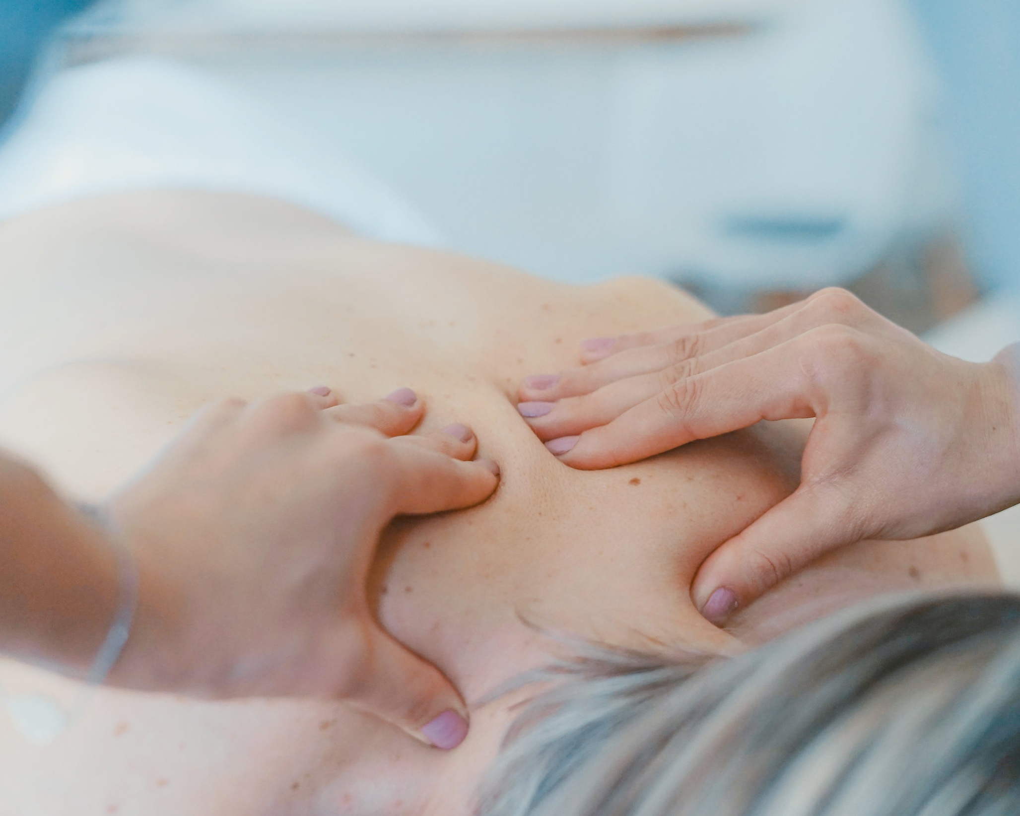 RMT  Massage therapy is the manipulation of soft tissues of the body including, muscles, connective tissues, tendons, ligaments and joints. Can be used to reduce muscle tension or attain relief from chronic pain as well as improve range of motion and mobility in muscles and joints.