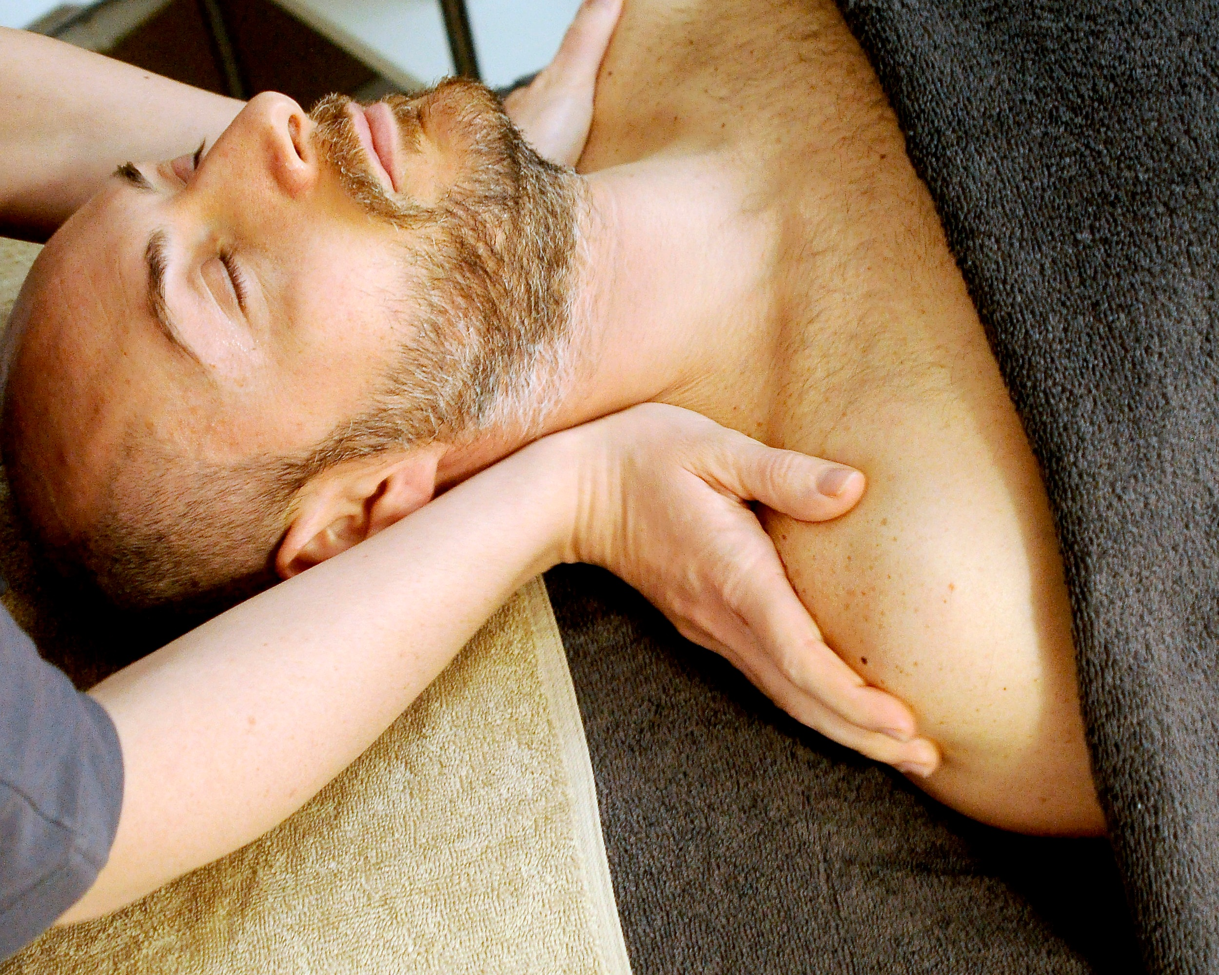 FASCIAL STRETCH THERAPY  Fascial Stretch Therapy is an assisted stretching system used to relieve tight joints and muscles, decrease or eliminate painful movement, and create lasting changes in your mobility. Clients will lay on the treatment table and be stretched for 30 - or 60 minutes at a time. Similar to a massage but with stretching!