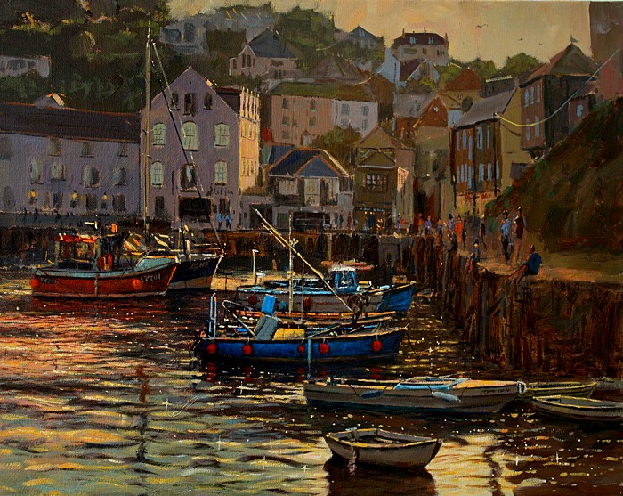SOLD Mevagissey Evening