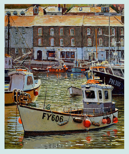 SOLD Busy Harbour, Mevagissey
