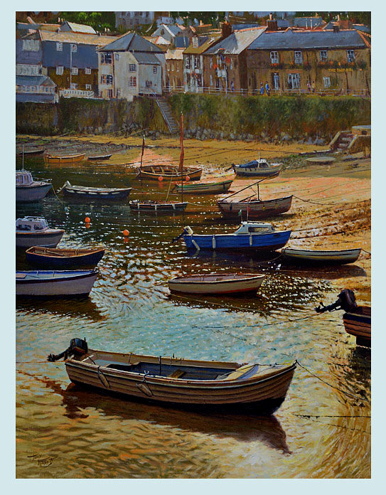 SOLD. Late Afternoon, Mousehole