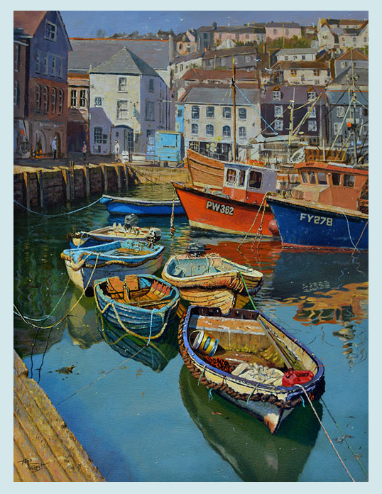 SOLD The Quay, Mevagissey.