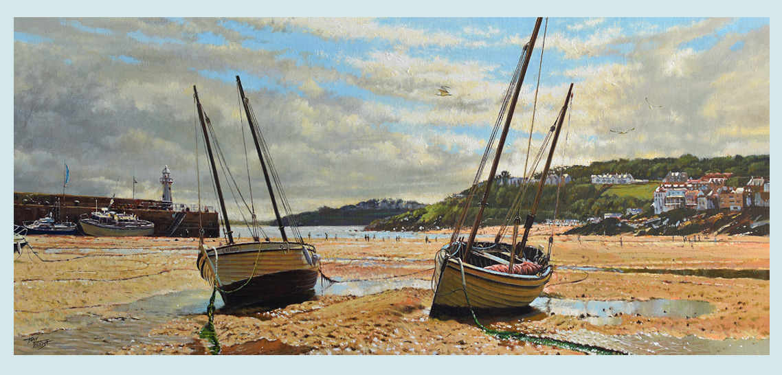 SOLD St.Ives Harbour Beach.