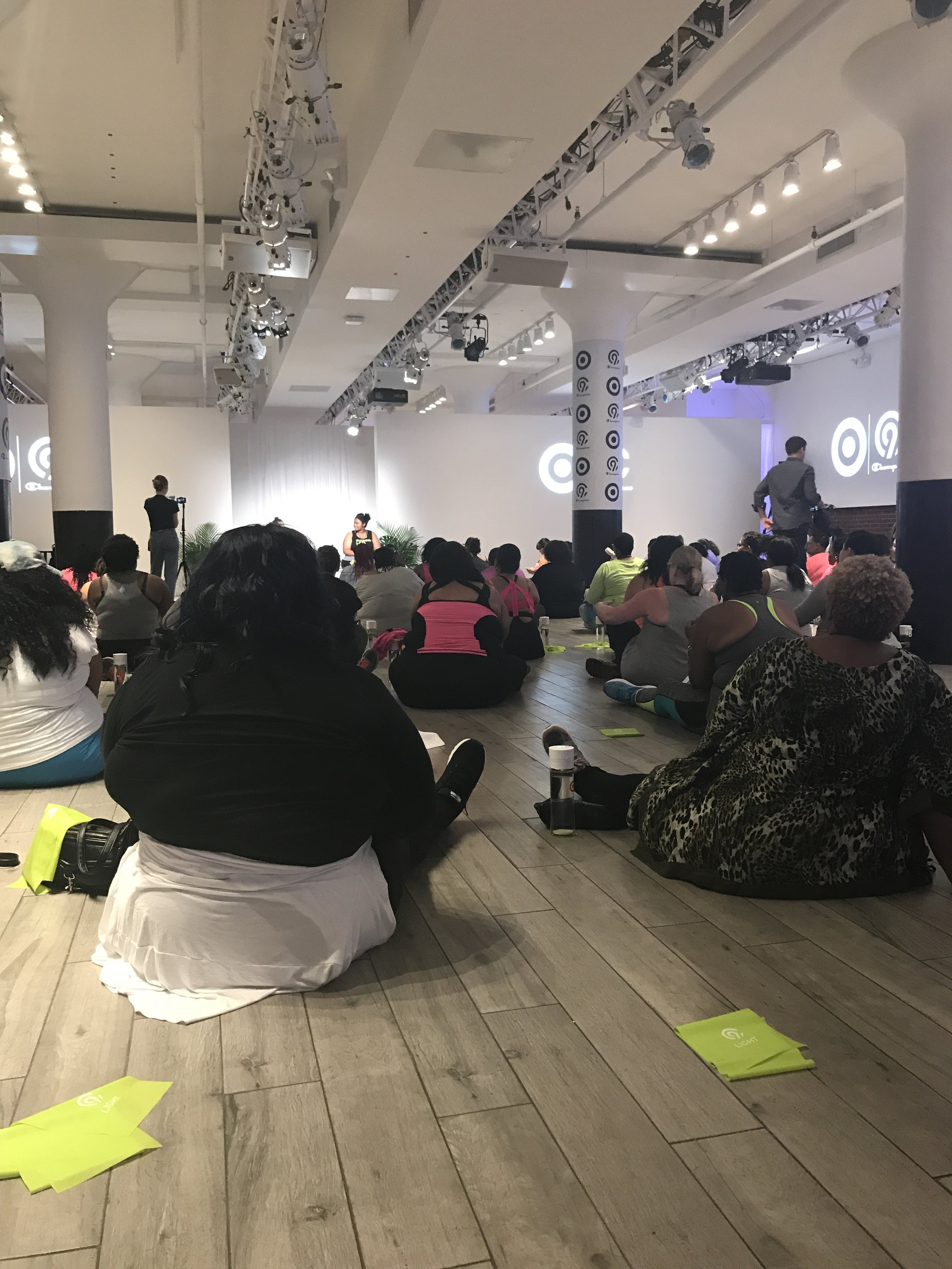 theCURVYcon Workout Class Presented by Target