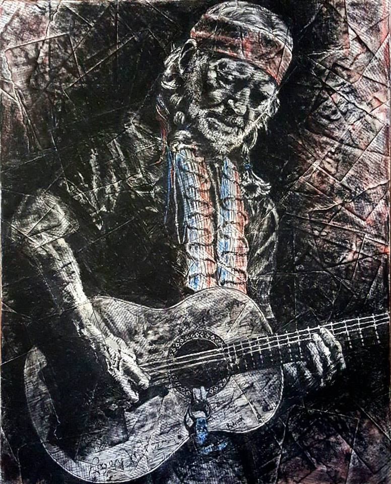 Willie - Charcoal, Pastel ■ 36