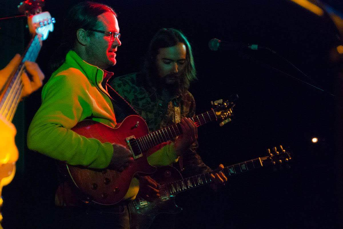 Christopher Gray and Nick Hamburg 2018 Deadgrass Festival