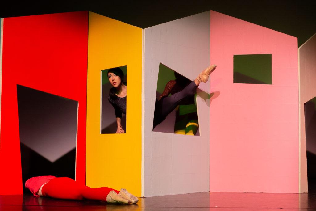 "Jordan Miller and Tiffany Mangulabnan in ""See Through"" Photo (c) Sergio Carrasco"