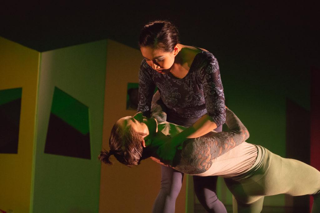 "Timothy Ward held by Tiffany Mangulabnan in ""See Through"" Photo (c) Sergio Carrasco"