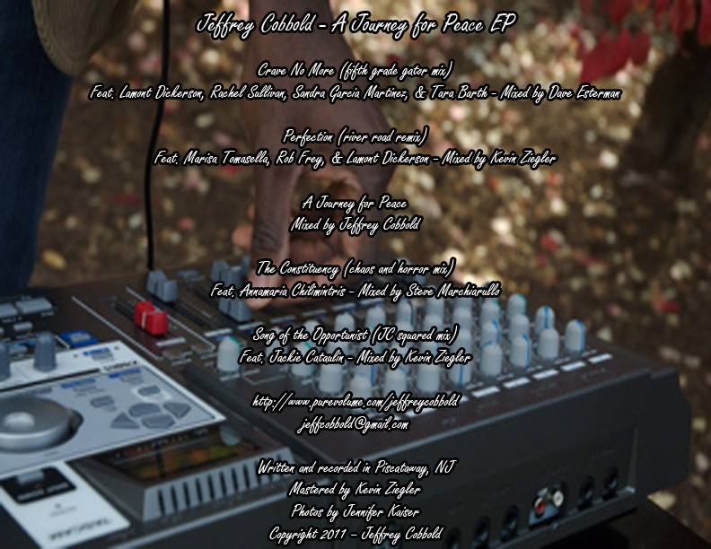 Jeffrey Cobbold - A Journey for Peace Ep - Track Listing.jpg