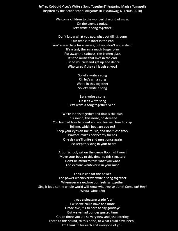 Jeffrey Cobbold - Let's Write a Song Together! feat. Marisa Tomasella - lyrics.jpg