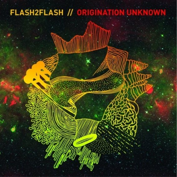 """This album art for the  Origination Unknown  album was created by Jason Alejandro. I believe this example of the """" Origin of the   Origination Unknown""""  concept is the most relatable out of all the examples. As a piece of visual art it creates a powerful visual experience of """"origin"""" and """"the unknown"""", which can be discussed by viewers."""