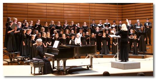 Cabrillo Youth Chorus , Cheryl Anderson, Director