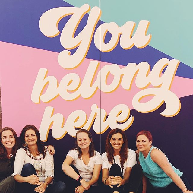 You belong here ❤️ * You are deserving of your most audacious dreams and the most beautiful life you can imagine * I was reminded of this over this weekend at #risexminn with the always inspiring @msrachelhollis and I'm going to remind all of you now: * Whatever room you strive to be in, whatever group of people you aspire to work with, whatever family you dream to have...you may not be there yet, but you are welcome and encouraged to reach for all of it. * You deserve to feel and look your best on the journey to your most beautiful life.  Take care of yourself.  Exercise.  Eat healthy.  And for goodness sakes, only wear clothes that make you FEEL DAMN GOOD!  Life is too short for the alternative * You belong wherever you are now and where you are striving to go. You belong.  You matter. ❤️