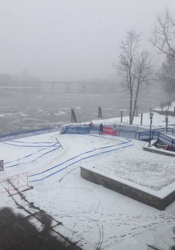 Saturday course conditions getting us excited for the big show on Sunday!
