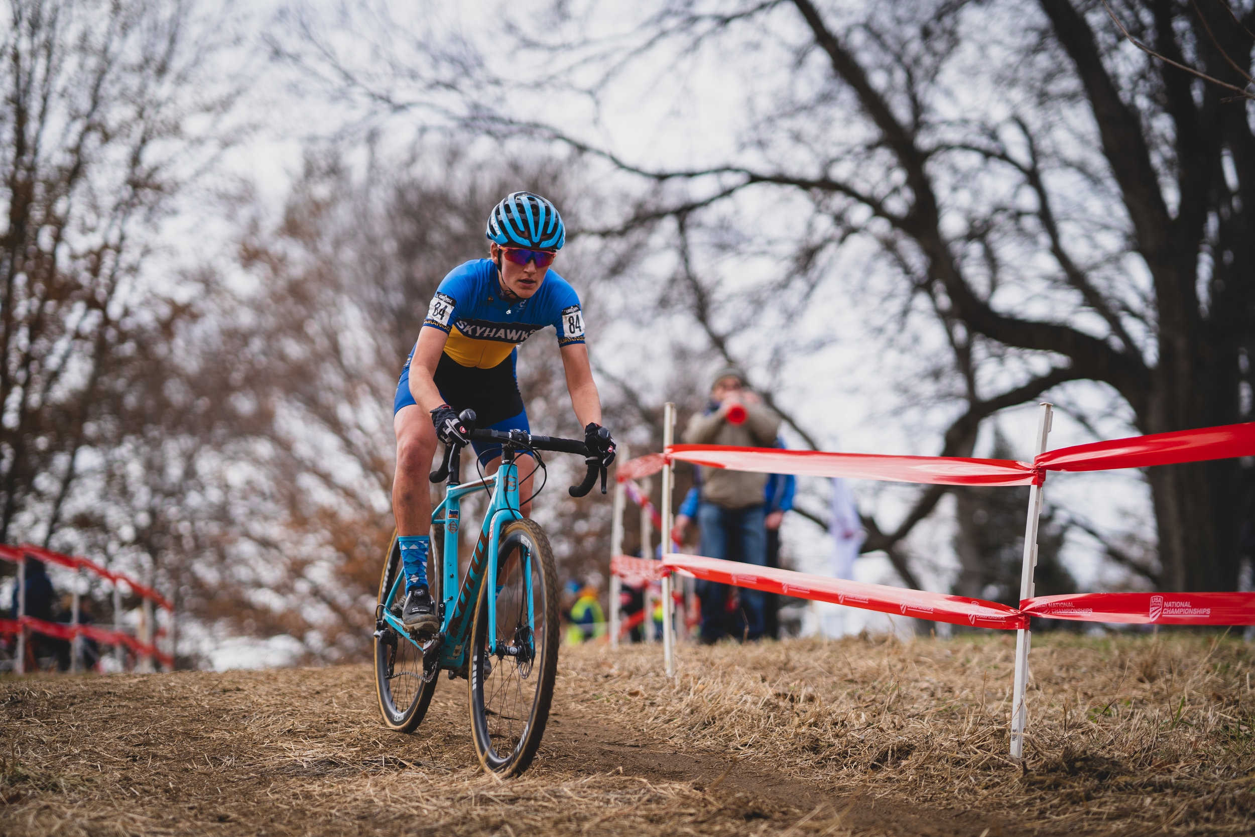Sophie rode to an awesome 4th place finish in Thursday's Collegiate Varsity event. Conditions were very different by Sunday's U23 race….