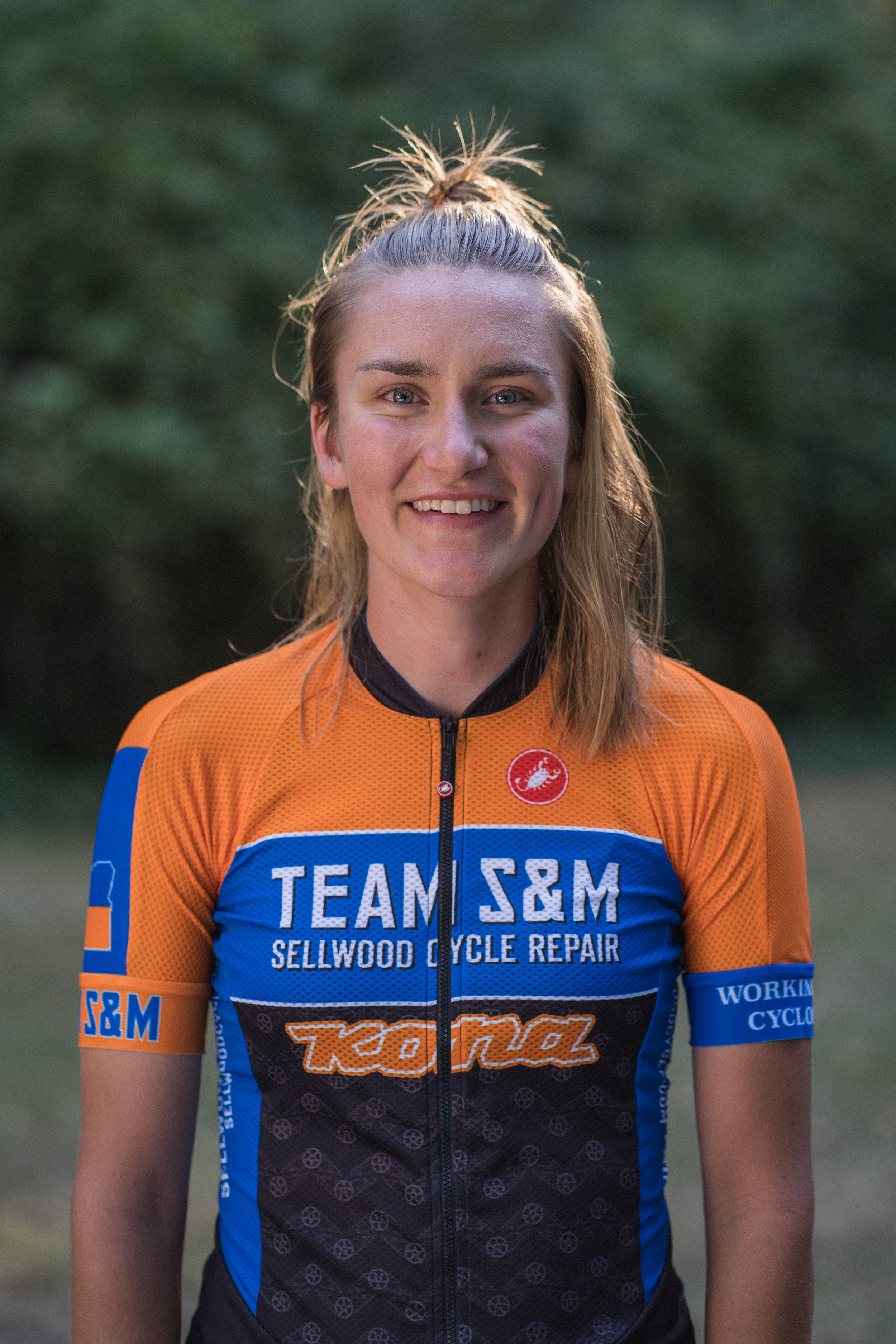 Sophie joined the Team S&M CX roster in 2018 and capped her inaugural season with the ride of the year, taking bronze in the U23 US women's championship event. She is a Bend, OR native who practically grew up on a 'cross course. Her dirt career began with the Bend Endurance Academy racing junior MTB and CX. Aided by her dual-citizenship, she continued her racing education post-high school with a gap year immersion in Swiss cyclocross, including a portion of the EKZ 'Cross Series. After returning to the US, she enrolled at Bard College and earned multiple collegiate and U23 podiums at the Grand Prix of Gloucester, NBX, Northampton International, and Collegiate Nationals. This December she will complete her bachelor degree in environmental studies with a minor in public health at Fort Lewis College, where she is also a multi-discipline member of the cycling team.