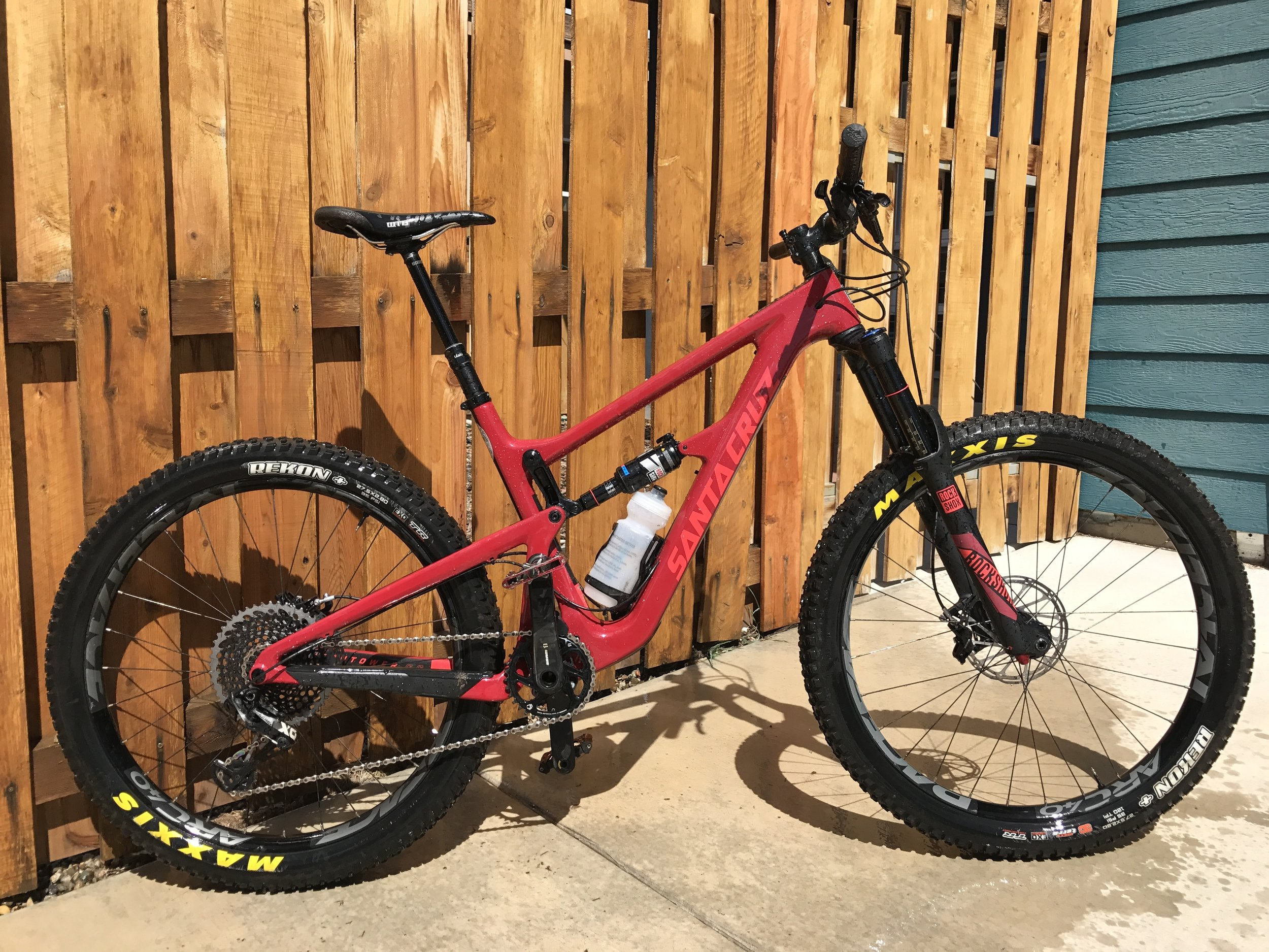 Santa Cruz Hightower CC XO1 Eagle Enduro Race Bike