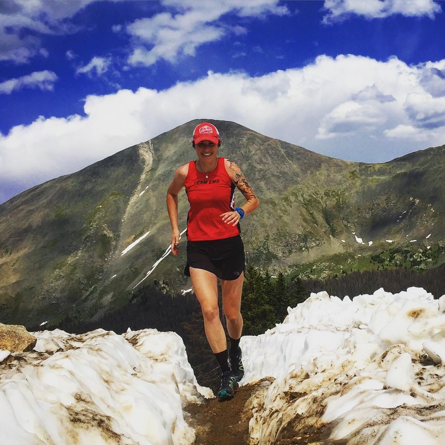 teamEMS trail running Monarch Crest