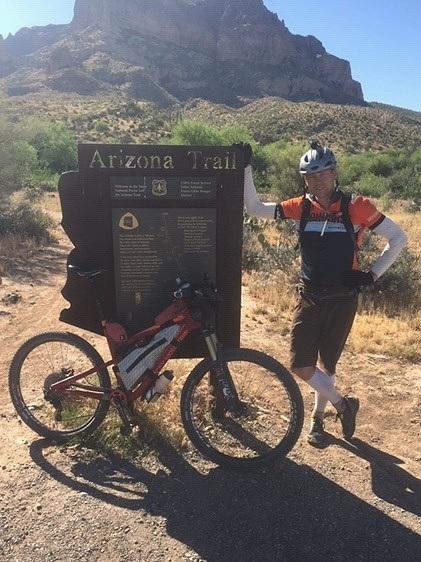 Adam Haughey was 4th overall racing 300 miles through the Arizona desert.