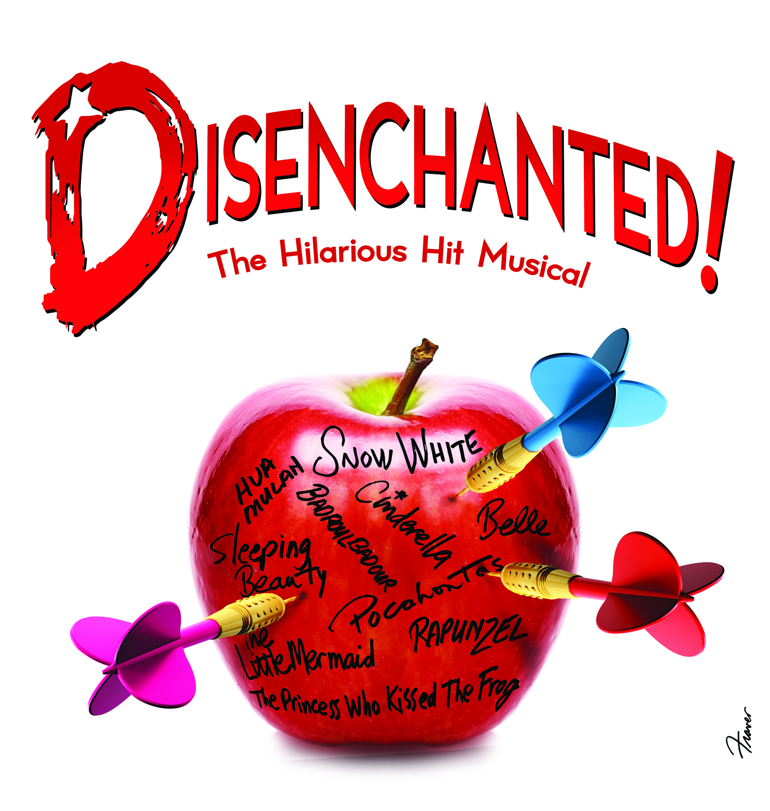 Disenchanted - 29 June - 14 July 2018Poisoned apples. Glass slippers. Who needs 'em?!Not Snow White and her posse of disenchanted princesses in the hilarious hit musical that's anything but Grimm. Forget the princesses you think you know – the original storybook heroines have come to life to set the record straight.