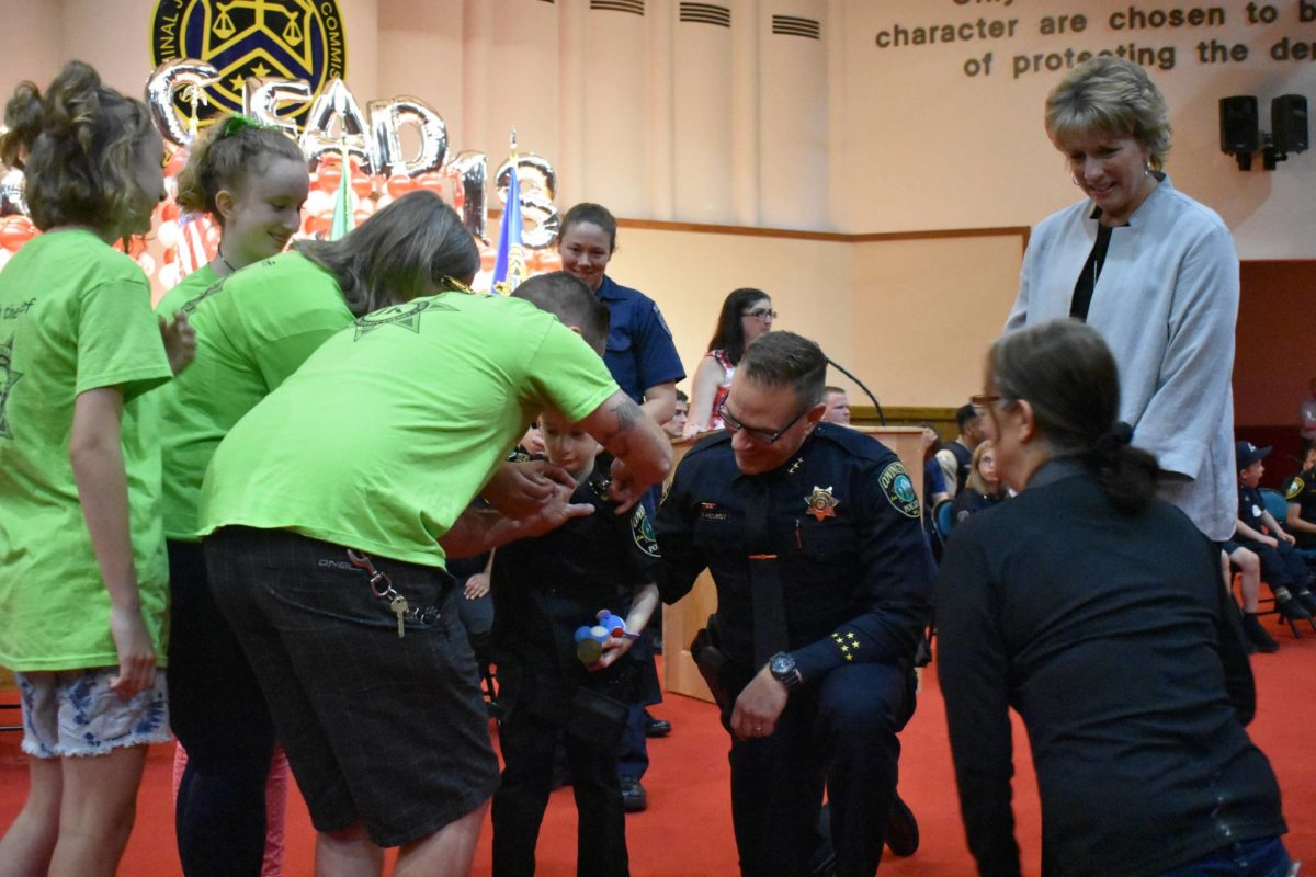 Little chiefs can have big dreams, too    Two special kids were honored as Chief for a Day by the Covington Police Department and the King County Sheriff's Department.