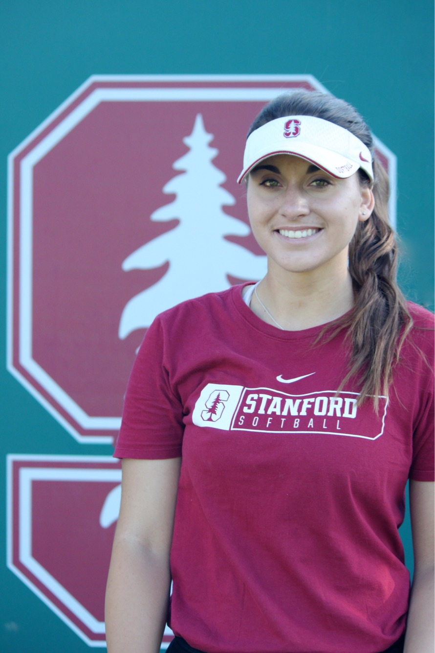 Kiana Pancino - I am currently a sophomore pitcher on the Stanford University softball team and am looking to pursue a degree in engineering. In addition to being heavily involved with FCAIA on campus (Fellowship of Christian Athletes / Athletes in Action), I love being apart of a group called Cardinal RHED where we work closely with developing and strengthening the mental and emotional game behind student athletes. I also have a heart for Jesus and helping other young women discover and develop a personal relationship with our creator as well.