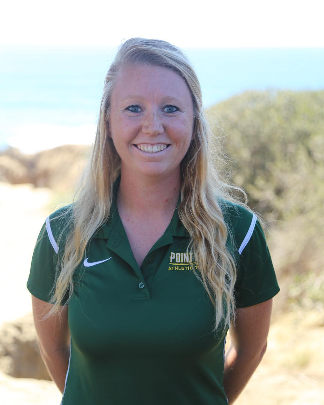 Pami Young - Pami is an athletic trainer at Point Loma Nazarene University. She loves all things sports and competition, is passionate about the development and formation in the lives of her college student athletes, and nerds out on the Enneagram. When she's not on the sidelines saving lives one ankle tape at a time, she's probably on a walk & talk with a friend, drinking chai, or trying to one up you on a movie quote.