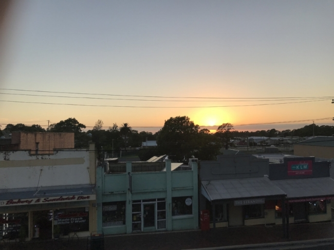 Sunrise in Bulli, NSW