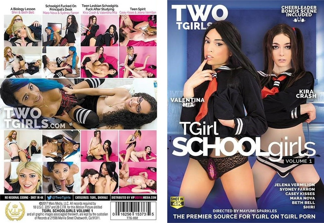 TGirl SchoolGirls  was nominated for the Best DVD Award at the March 2018 Transgender Erotica Awards (TEAs).  It also made AVN's Top 50 Overall Specialty Titles - July 2017    https://twitter.com/VipDigMedia/status/887748433074806784