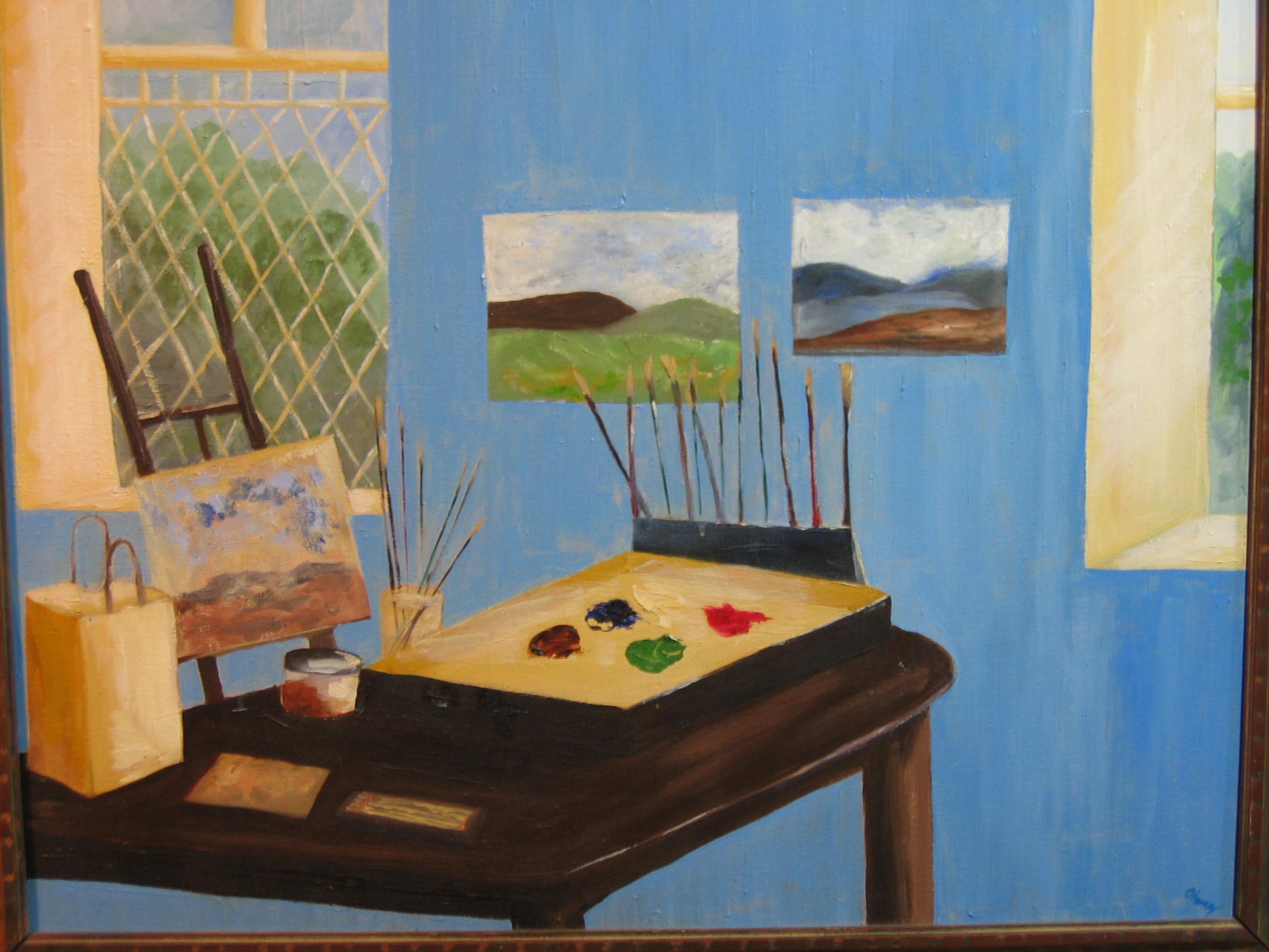 Studio at Annamakerrig