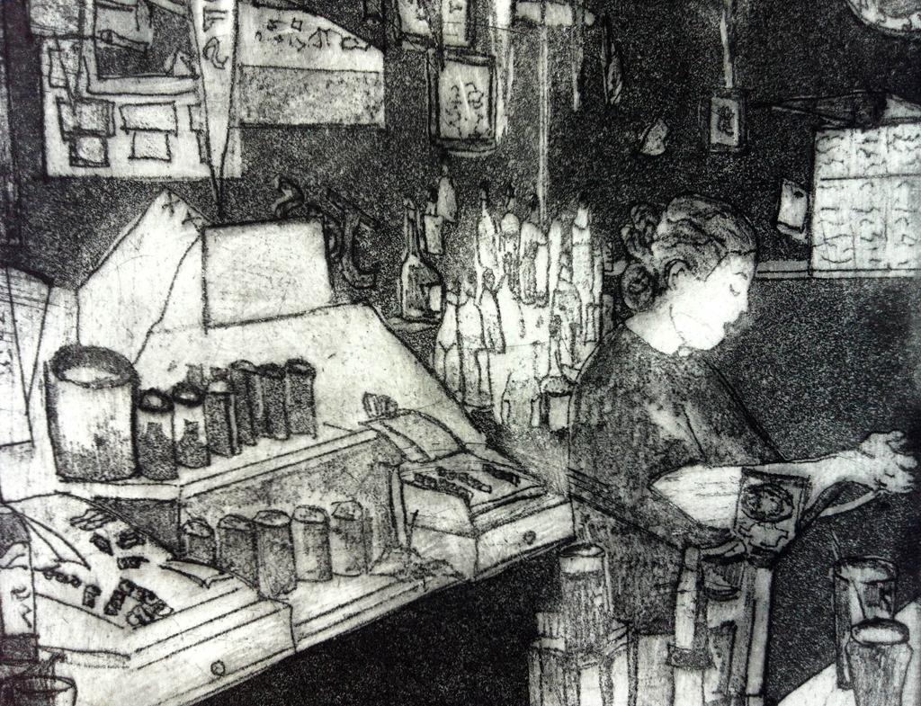 Meghan at the Bar