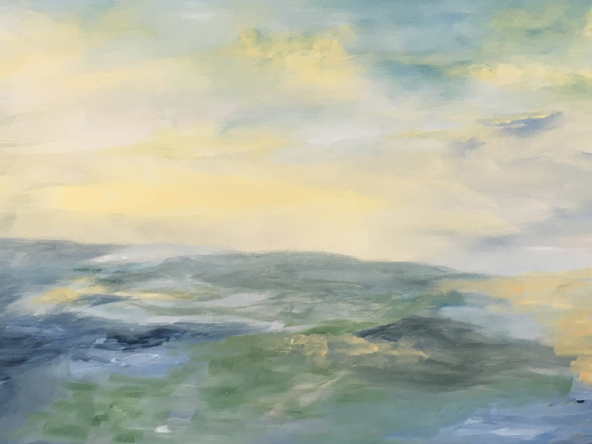 "Berkshire Hills oil on canvas 20"" x 16"""