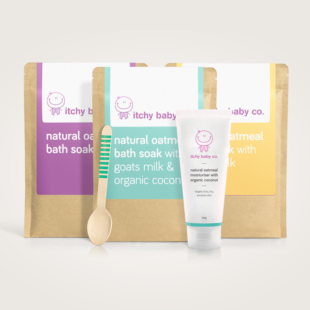 Loving Itchy Baby Bundle