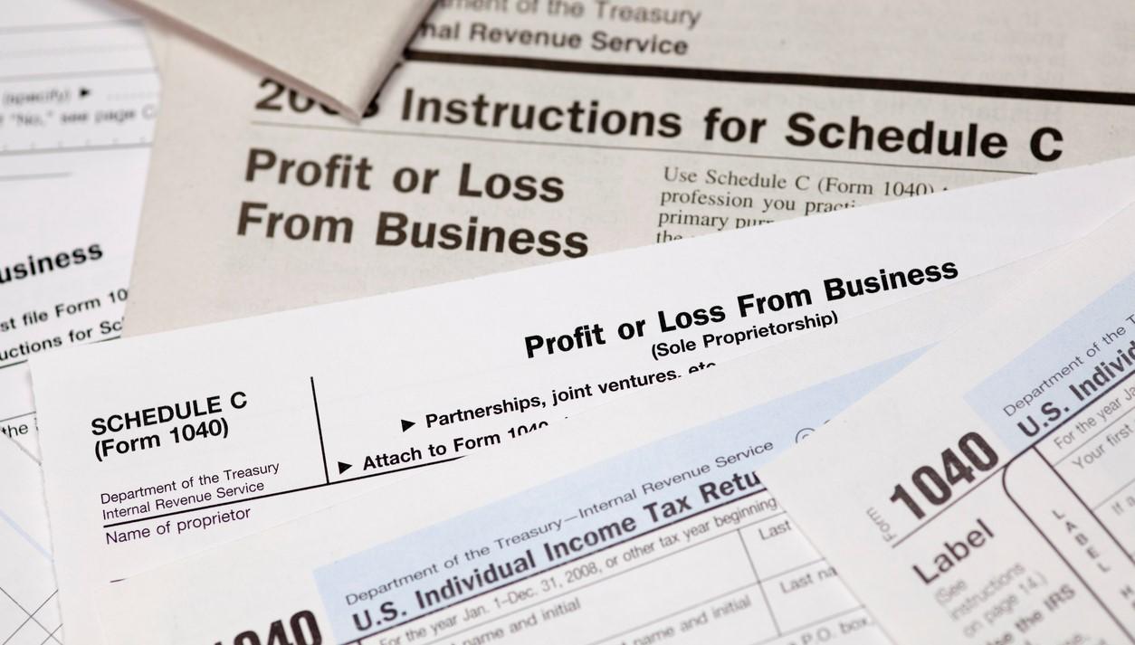Annual income tax preparation