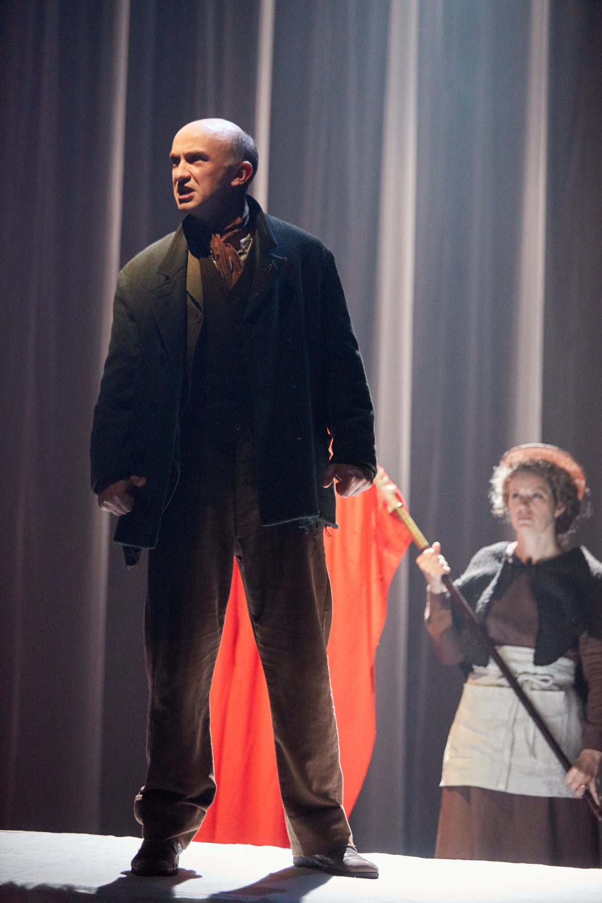 AFTER THE RUN ON THE CRUCIBLE MAIN STAGE, I TOOK THE PLAY ON TOUR TO OXFORD, BRIGHTON, YORK, SALISBURY, MALVERN AND CAMBRIDGE, RUNNING THE TECH AND NOTING THE FIRST NIGHT AT EACH THEATRE -