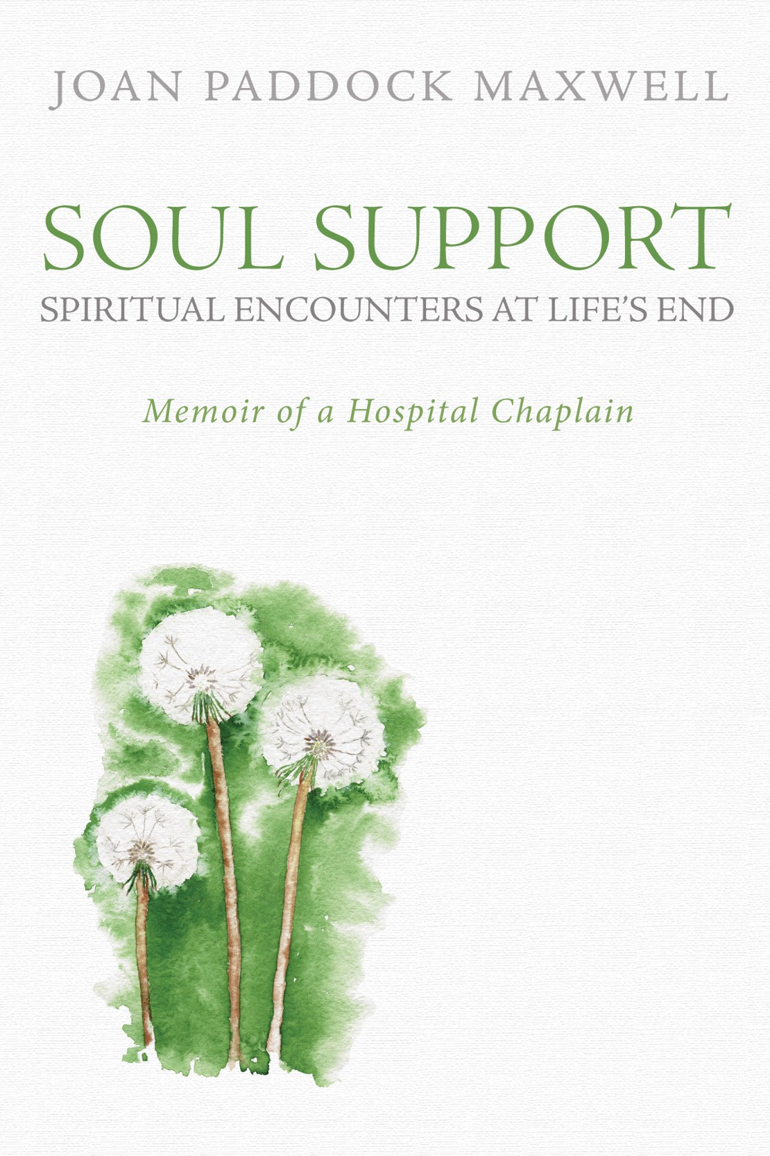 Memoir of a Hospital Chaplain - A young dancer's last hope--a bone marrow transplant--has failed. A homeless man, in the final stages of AIDS, refuses to speak. A newly retired woman has just received a terminal diagnosis and is wailing in despair. What can we learn about death, dying, and the human spirit as we journey with a hospital chaplain into sickrooms like these?Joan's memoir offers intimate observations of people coming to terms with their final days. She offers a unique perspective as a retired hospital chaplain, of both the practical and emotional realities patients, their families and friends, and hospital staff deal with related to death and dying.
