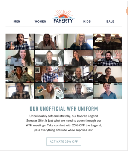 Faherty email
