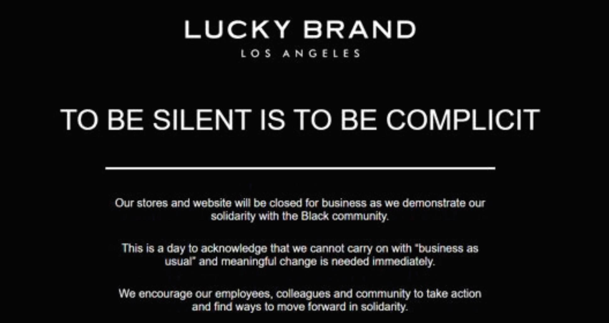 Lucky Brand Instagram