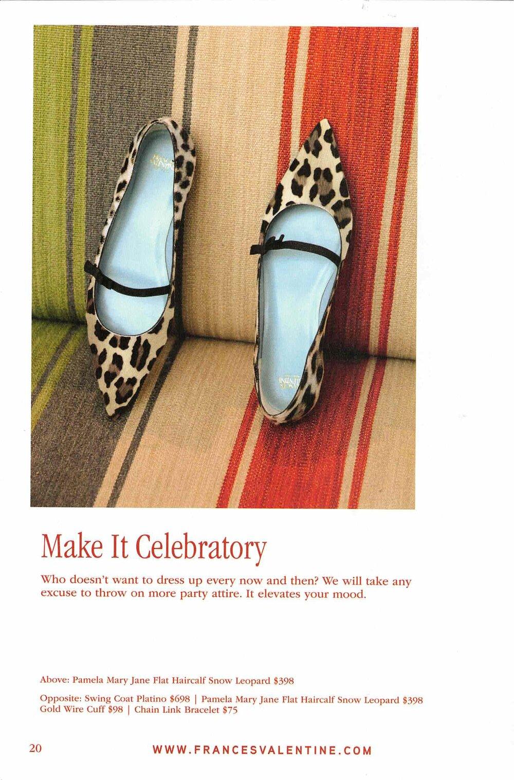 Frances Valentine digest catalog