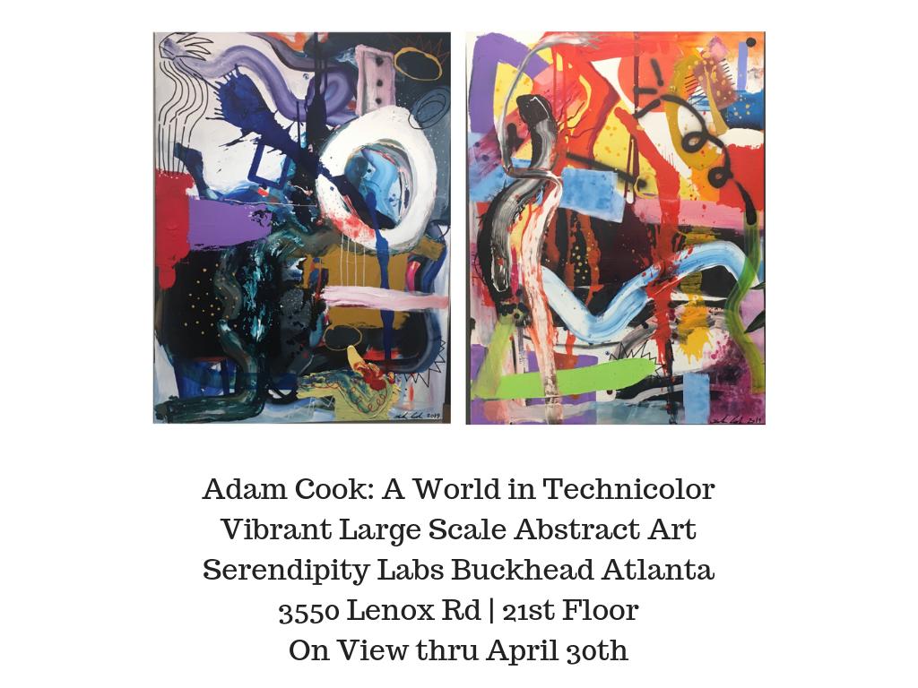 Adam Cook: A World in Technicolor