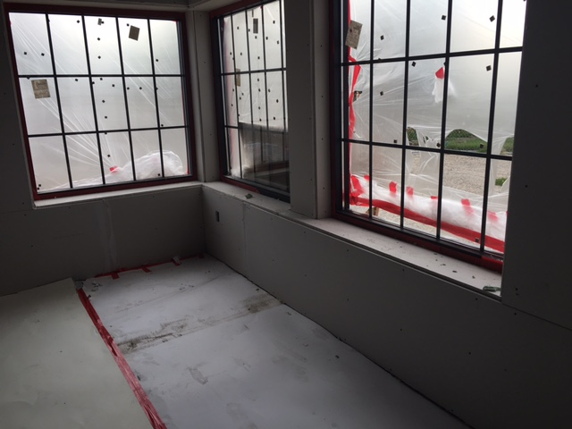 Windows & Drywall - Now for some mud!