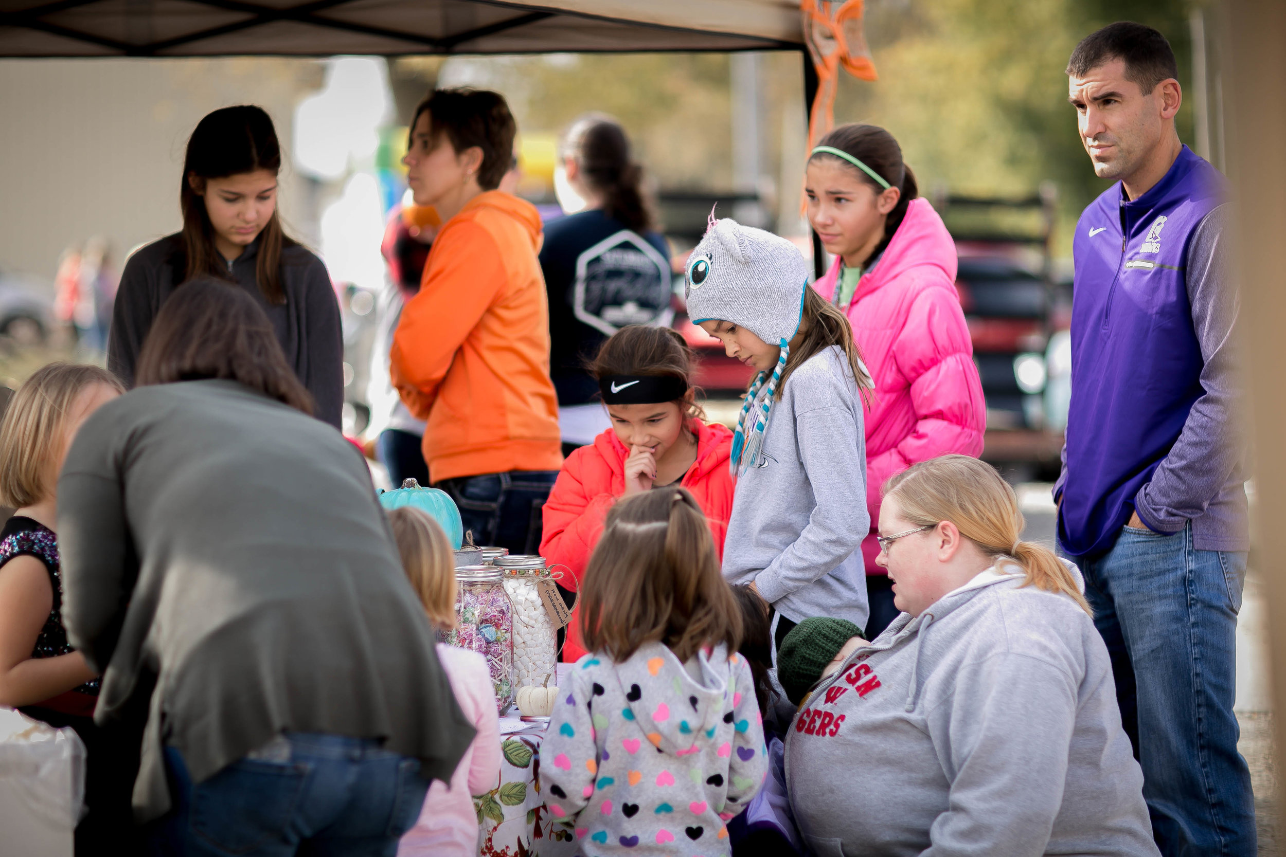 Over 600 people were in attendance to celebrate Common Grounds One Year Anniversary Fall Festival.