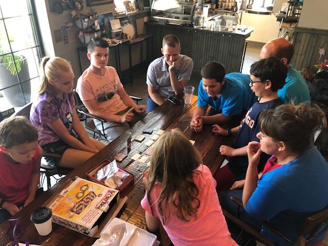 We LOVE board games!