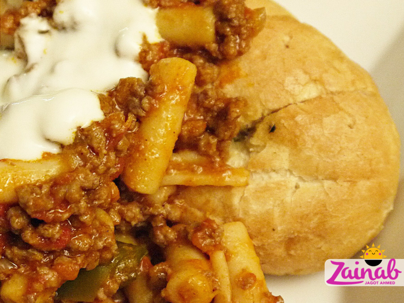 Crumbly Beef Goulash